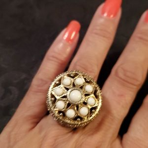 Vintage Statement Ring - Size 6